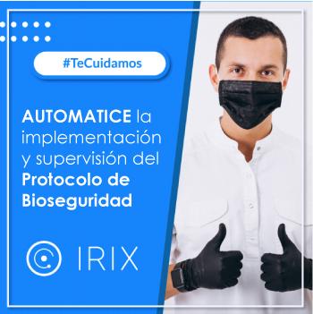 IRIX App Supervisión Protocolo Bioseguridad