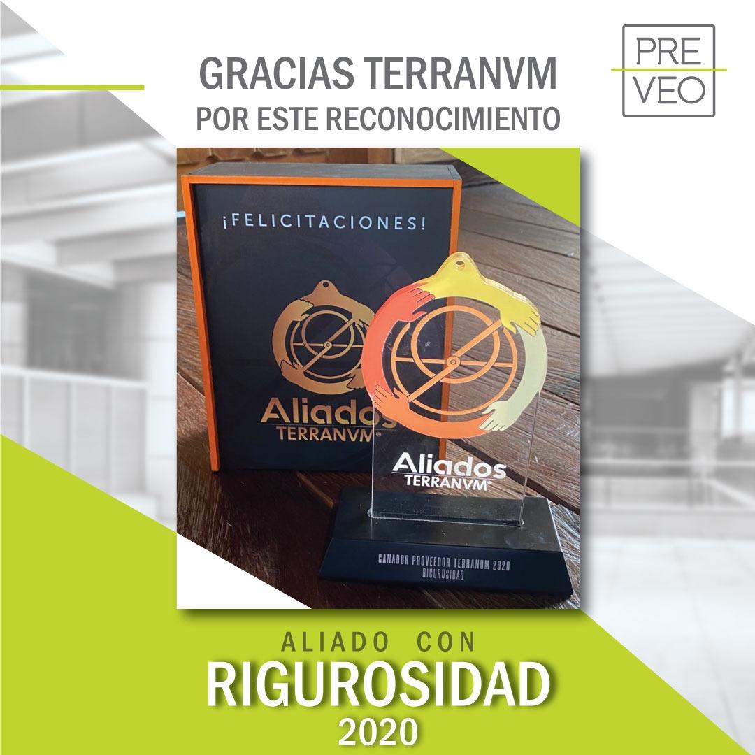 PreVeo Ganador Premio Terranum 2020