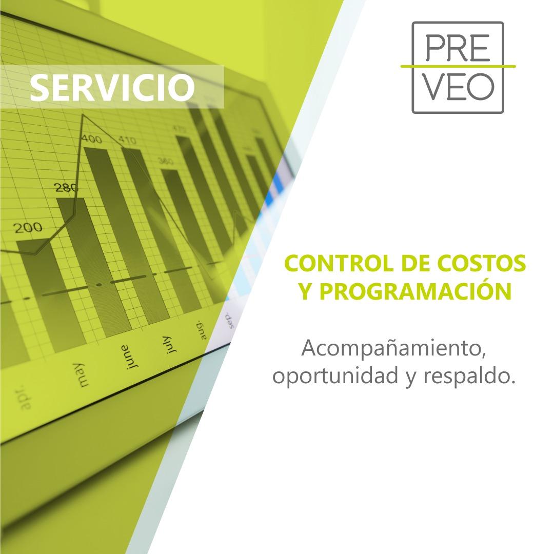 Servicio de control de costos y programación